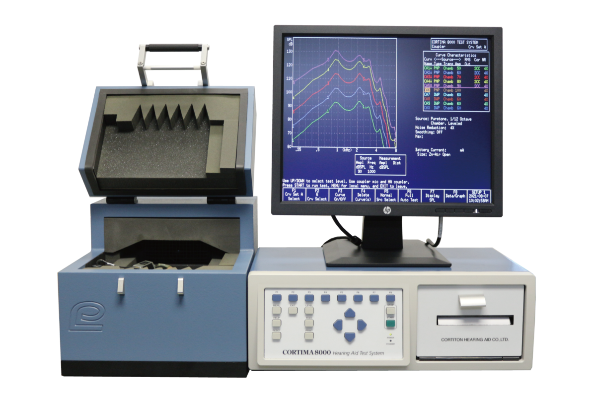 補聴器特性測定器CORTIMA8000の製品画像